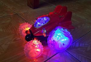Juguete auto buggy stunt a control remoto-luces y sonido 4x4