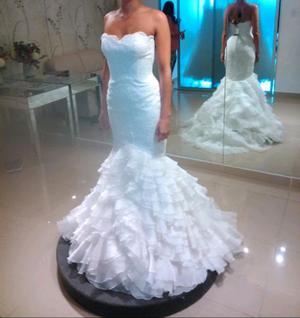 Vendo vestido novia nuevo sin uso