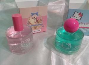 Perfume kitty caja rosa o azul