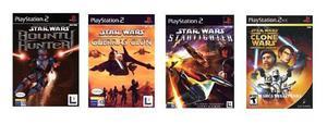 Star wars - juegos ps2