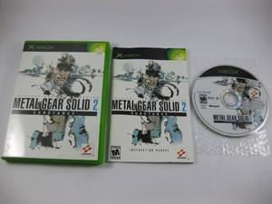 Vgl - metal gear solid 2 substance - xbox
