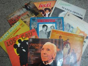 Discos vinilo varios artistas tango folklore consulte por