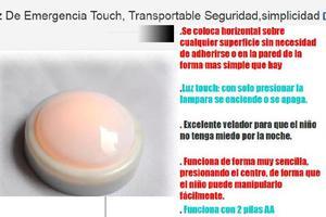 Nuevas _lamparas touch sin uso a pilas 2 aa x4-para cuando