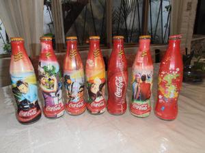 7 botellas de coca cola edicion limitada