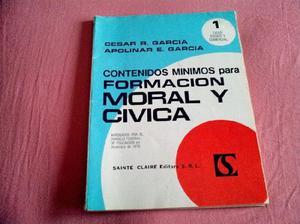 Formacion moral y civica,excelente estado!!