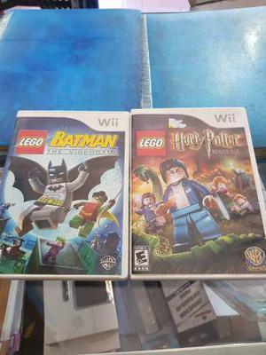 Originales de wii lego h potter y lego batman!!