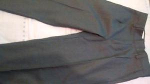 Pantalon gris colegial talle 12