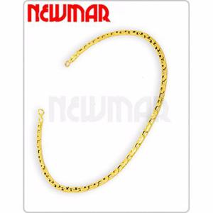 Pulsera oro paris 18 k 19 cm 1.4 grs mujer hombre