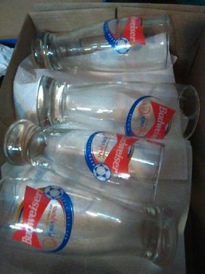 Vasos de cerveza budweiser en x 12 u