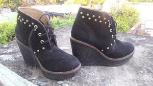 Zapatos de gamuza talles 35