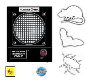 Erradicador ultrasonico plagasonix modelo: 200/lr ind.
