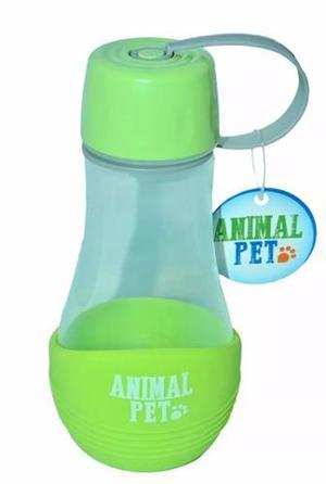 Bebedero portátil, botella de paseo animal pet, tu mascota