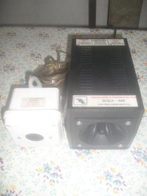 Erradicador ultrasonico de aves scala-600 c/1 cubo adicional