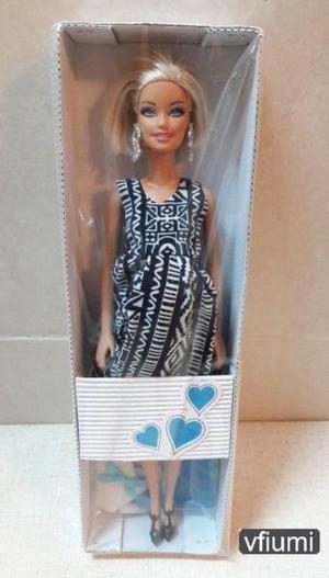 Muñeca barbie embarazada, bebe y accesorios