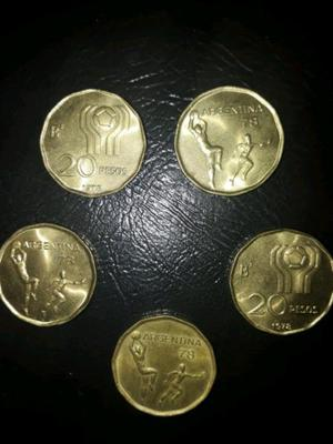 Monedas mundial 78