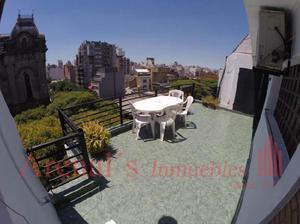 Piso 4 amb c/ amplio balcón terraza, parrilla y expensas de