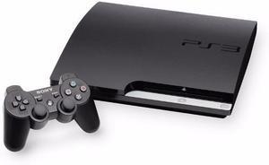 Sony play station 3 escaso uso 2 controles + 4 juegos