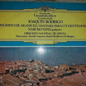 Disco vinilo: concierto de aranjuez / joaquín rodrigo /