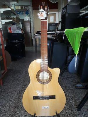 "Guitarra criolla clasica ""antigua casa nuñez"" c/corte"