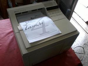 Impresora hp laserjet 4 - laser monocromatica - exc. func.