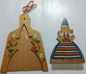 Barre migas escobita palita de madera diseño holandes