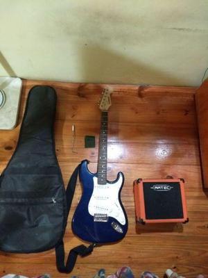 Combo guitarra electrica y amplificador
