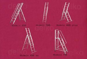 Escaleras de aluminio delko realizamos escaleras hogareñas,