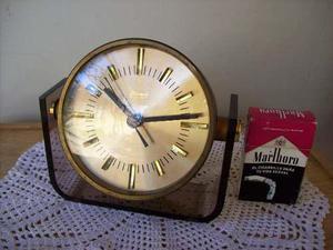 Exelente reloj blessing aleman bronce.no despertador.