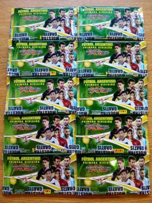 Figuritas tarjetas cartas futbol argentino 2017