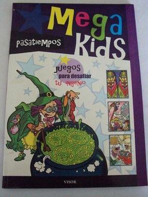Libro de pasatiempos infantil: megakids