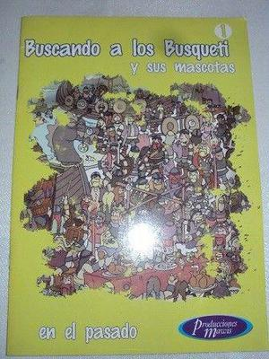 Libro infantil de entretenimiento: buscanco a los busqueti y