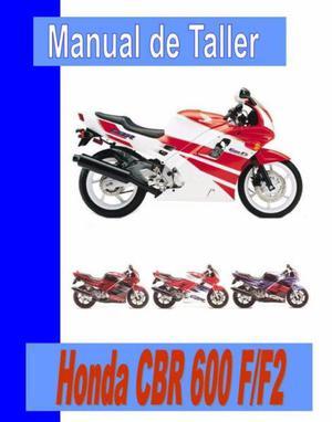 Manual mecanica y taller honda cbr 600 f