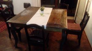 Oferta juego comedor mesa - sillas - sillón en Argentina 【 ANUNCIOS ...