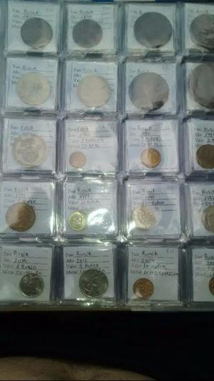 Venta de monedas del mundo, antiguas, de plata. consulte