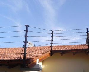 Cercos eléctricos, concertinas, sistemas de seguridad.