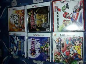 Lote de juegos de nintendo 3ds n3ds region usa