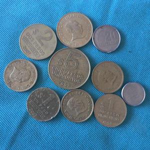Monedas de argentina y el mundo