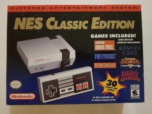 Nintendo Nes Classic Edition Nes Mini 30 Juegos Original En