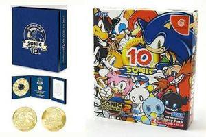 Sonic edicion aniversario - sega dreamcast