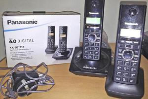 Teléfono panasonic inalambrico duo