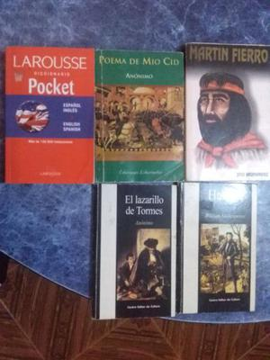 Vendo libros en buen estado