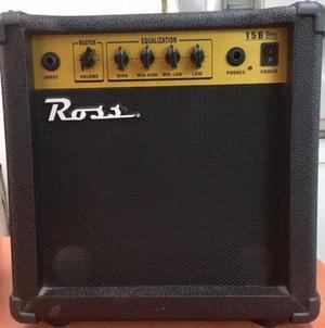 Amplificador para bajo -15 watt-