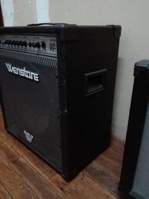 Amplificador bajo wenstone 120w reales
