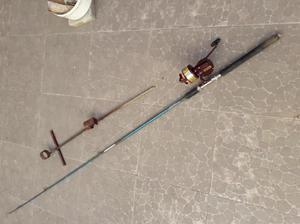 Caña de pesca reel douglas pie de regalo.