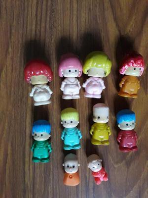 Muñecos juguetes pin y pon usados