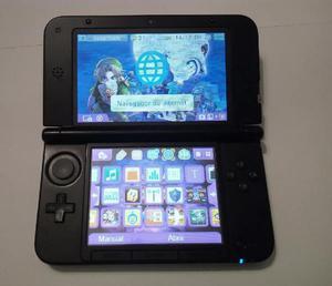 Nintendo 3ds xl flasheada con 38 juegos