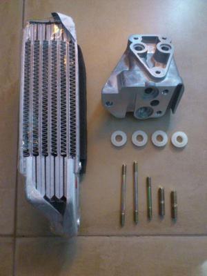 Radiador de aceite y soporte para motor vw escarabajo kombi