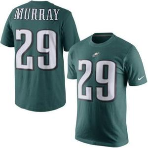 Remera nike nfl dry fit philadelphia eagles #29 murray