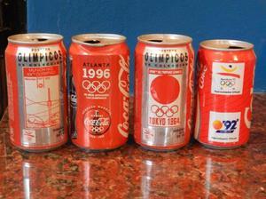 Coca cola latas de coleccion