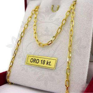 Cadena oro 18 k hombre forcet cadenas oro 8.2 grs - 60 cm